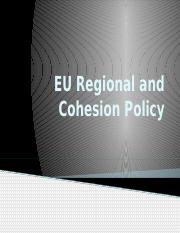 EU Regional and Cohesion Policy sharepoint