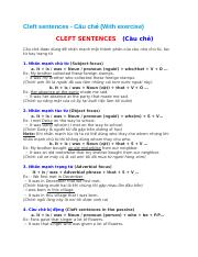 Cleft sentences.docx