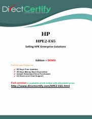 HPE2-E65 Questions and Answers.pdf