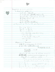 Pre-Calculus Cross Products of Vectors Notes