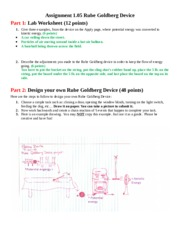1.05 Energy - Part 1 Lab Worksheet(20 points Give three ...