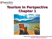 Chapter+1+Tourism+in+Perspective