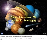 12 - Telescopes