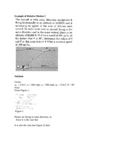 Example relative motion 2_13_12