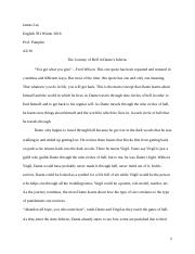 Research paper draft #1 english