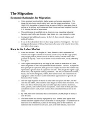 african american histiry The Migration