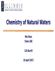 31-Chem360 Spring 2017_chemistry of natural waters.pptx