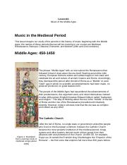 Lesson4A Music of the Middle Ages.docx