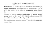 Chapter4-ApplicationsOfDifferentiation