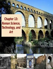 13 Roman Science Technolgy and Art