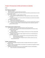 Leadership Development- Chapter 8-15 Book Notes.docx
