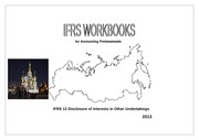 2013 IFRS 12 Disclosure of Interests in Other Undertakings - Final