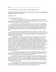 chap 15 essay