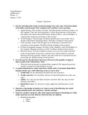 Ch 1 Questions