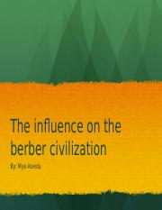 inflence of the berber civilization.pptx