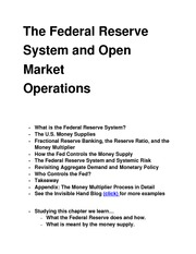 The Federal Reserve class notes