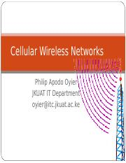 2b.Cellular Network Systems_June 2014
