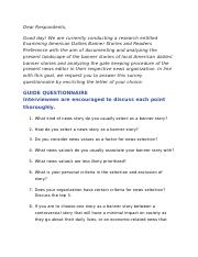 Questionnaire Sample.docx