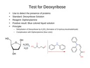 Test for Deoxyribose