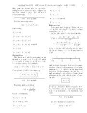 4.3 Postclass-  Derivatives and graphs-solutions