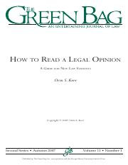 howtoreadlegalopinion