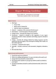Lab Report Guideline
