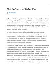 The Outcasts of Poker Flat.pdf - 1 The Outcasts of Poker ...