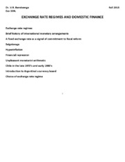 08 IF exchange rate regimes (FT 8)