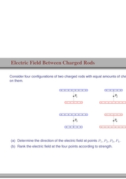 38. Electric Field Between Charged Rods