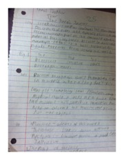Science Fiction Notes 1