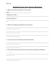 refutation essay peer review worksheet f2f(1)