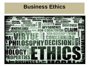 MGT 340 Ethics Powerpoint