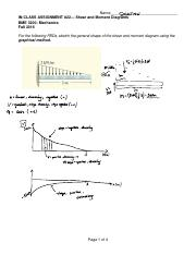 Fall 2017 BME 3200 In-ClassActivity_22_Shear and Moment Diagram Graphical Method Solution.pdf