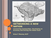 Networking A New Nation