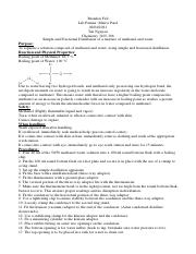 Organic Chemistry Lab 1 (Distillation).pdf