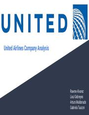 United Airline's Company Analysis Presentation.pdf