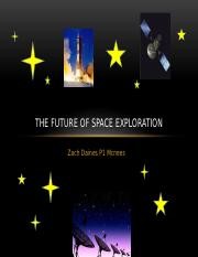 Exploring Space Powerpoint