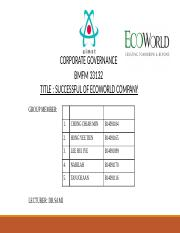 CG-Assignment-3-Successful-Company-ECO-WORLD