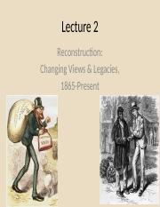 Lecture 2 Reconstruction Changing Views and Legacies.pptx