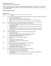 microeconomics ecn 212 test Academic requirements at its  students planning to major in economics must take ecn 111, 112, 211, 212,  principles of microeconomics.