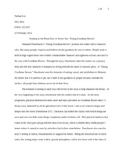 essay about young goodman brown