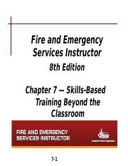 Chapter 7 Notes - Skills Based Training Beyond the Classroom.ppt(1)