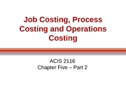 ACIS 2116 Chapter 5 Part 2 Slides