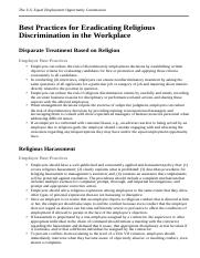 Best Practices for Eradicating Religious Discrimination in the Workplace.html