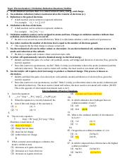 ANSWERS_redox and electrochemistry review sheet