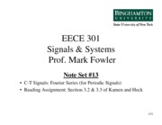 EECE 301 Note Set 13 FS Details
