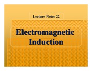 (22) Electromagnetic Induction