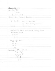 Solving Radical Expressions notes