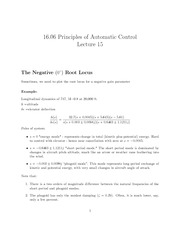 16.06_Lecture on The Negative Root Locus