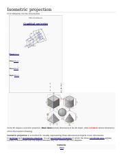 Isometric projection Meaning.docx